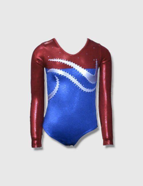 спортивный гимнастический купальник из бифлекса