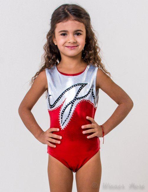 спортивный гимнастический купальник из бефлекса