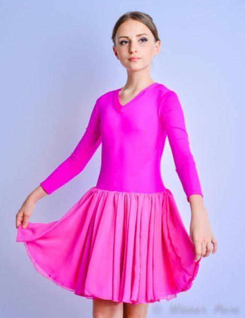 малиновое рейтинговое платье