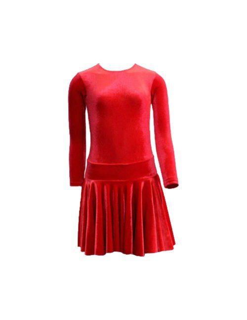 красное спортивное платье