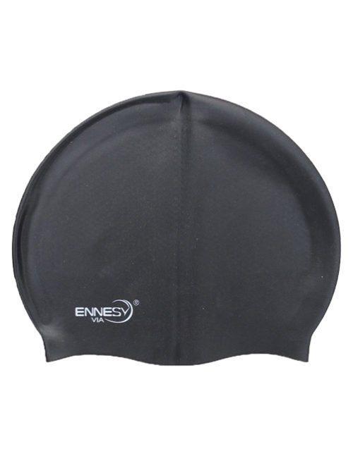 черная плавательная шапочка