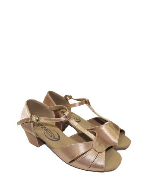 туфли для танцев сатин