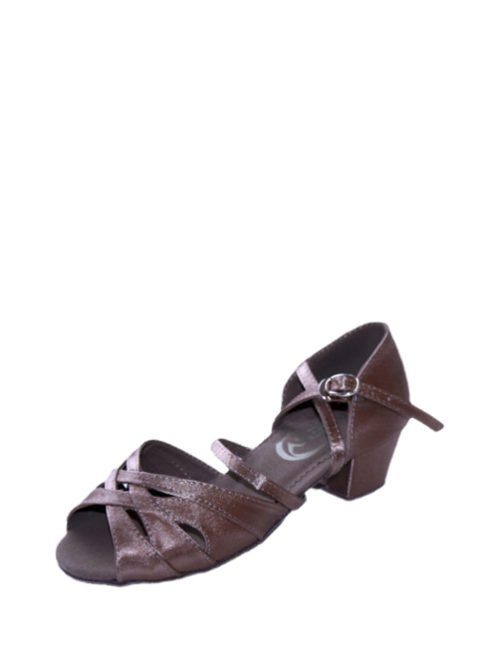 туфли для танцев стандарт светлый сатин