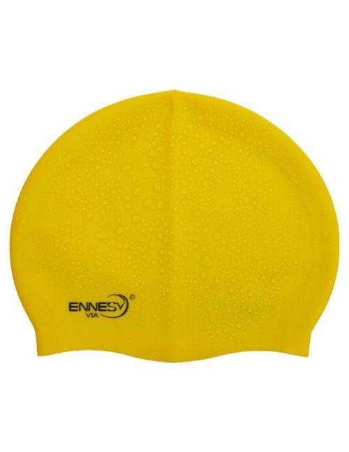 желтая плавательная шапочка