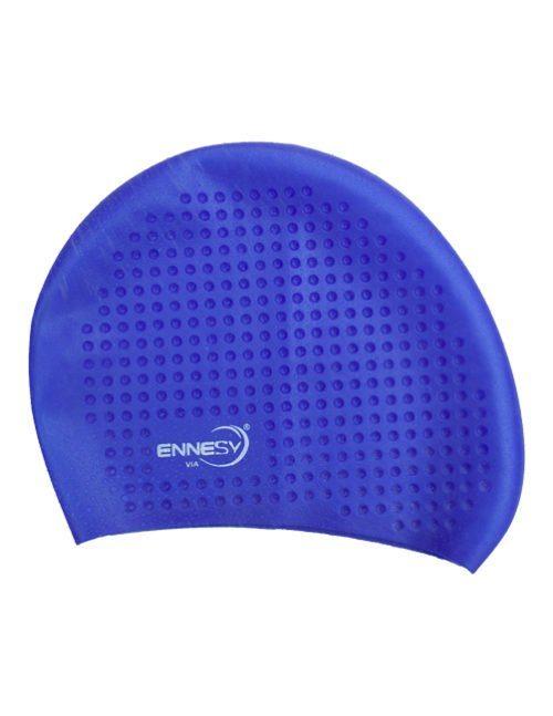 синяя плавательная шапочка