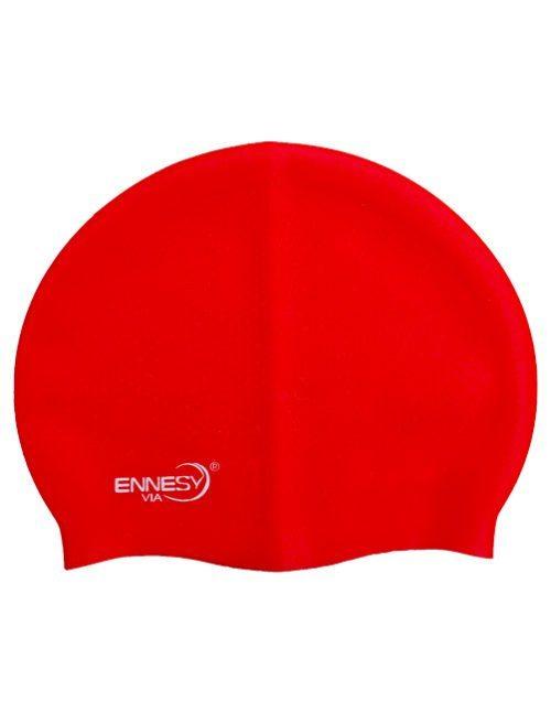 красная плавательная шапочка