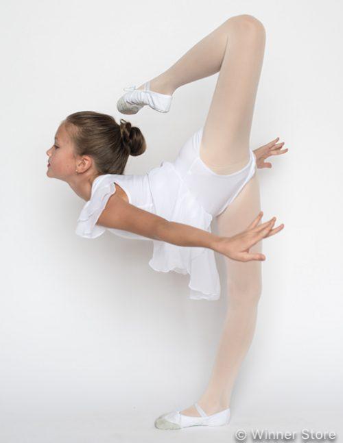 Купальник для танцев белый