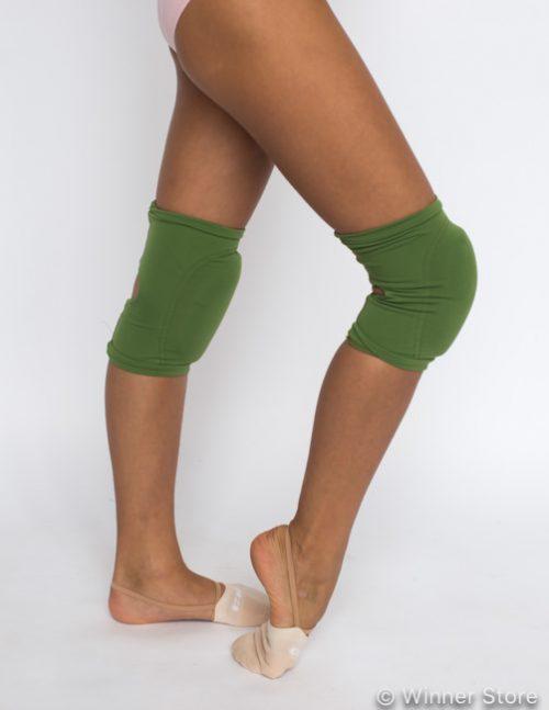 Наколенники для танцев зеленые