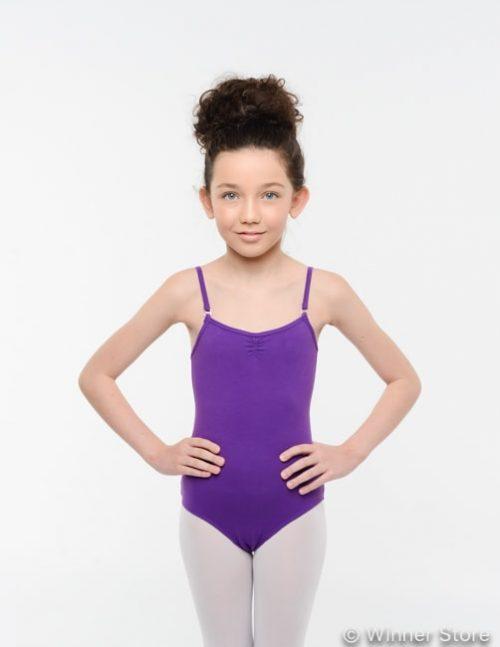 Сиреневый гимнастический купальник щелкунчик 12