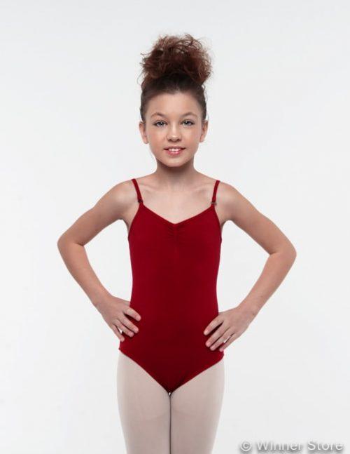 Бордовый гимнастический купальник Щелкунчик 12