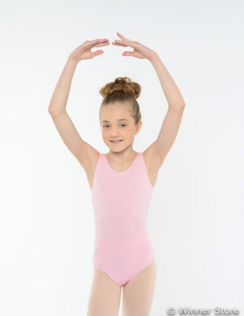 Купальник розовый гимнастический
