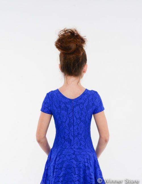 синее рейтинговое платье