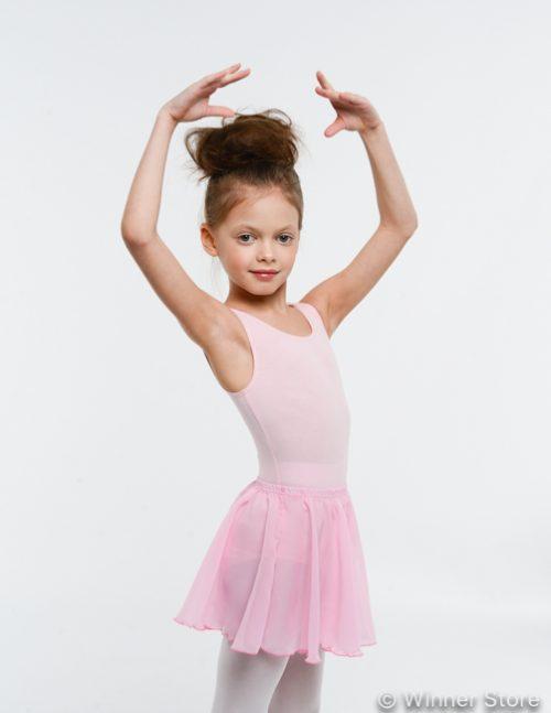 розовая гимнастическая юбка