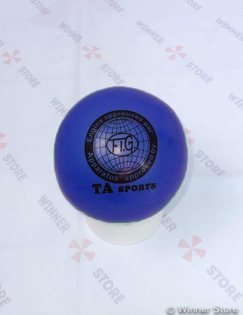 синий мяч для художественной гимнастики