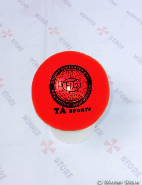 красный мяч для художественной гимнастики