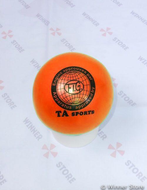 оранжевый мяч для художественной гимнастики