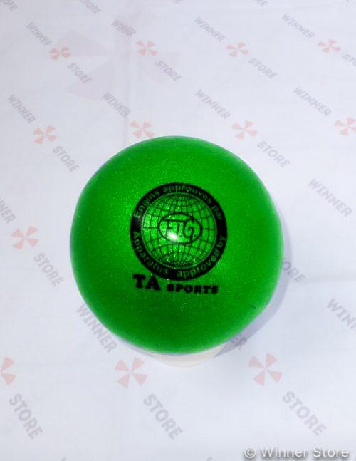 зеленый мяч для художественной гимнастики