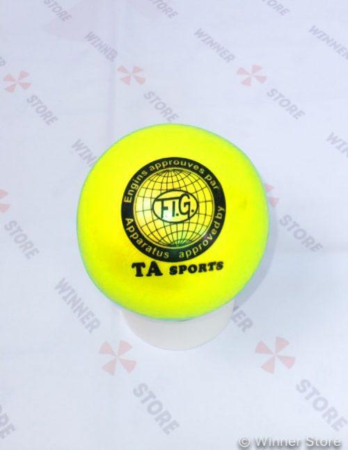 Мяч гимнастический TA Sport, желтый