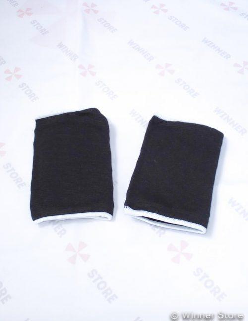 Черные наколенники на жесткой чашке