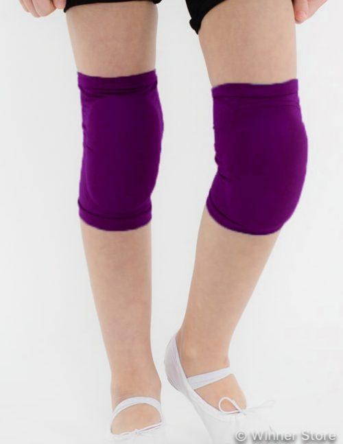 фиолетовые наколенники для танцев