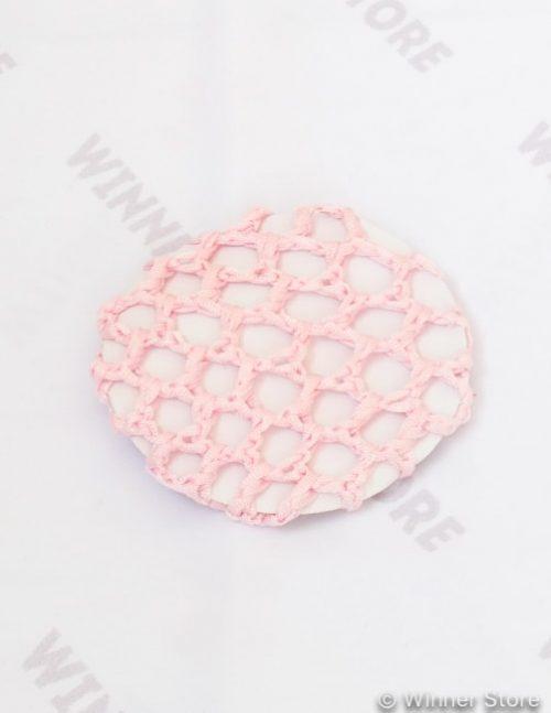 розовая сетка для волос