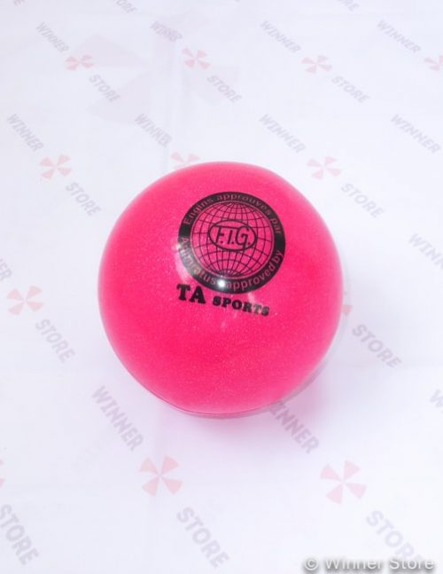 розовый мяч для художественной гимнастики