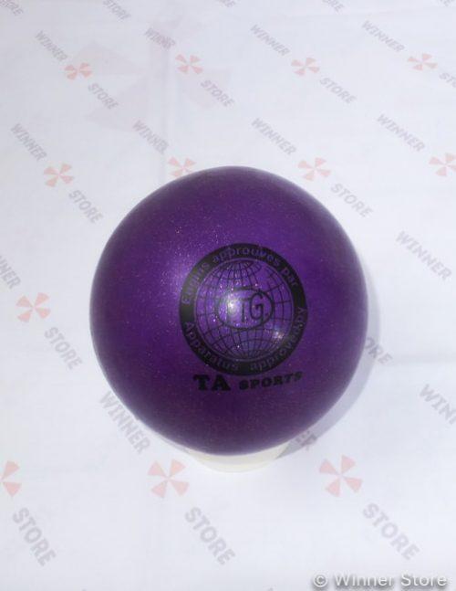 фиолетовый мяч для художественной гимнастики
