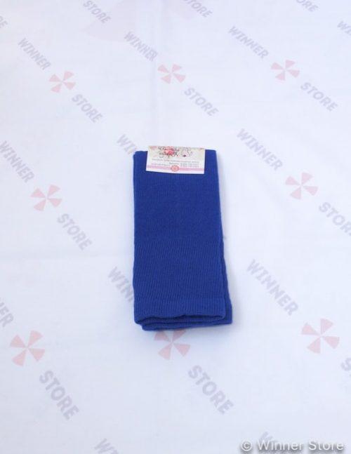 синие гетры с вырезом
