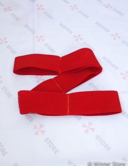красный многофункциональный эспандер