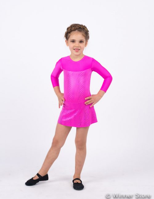 розовый купальник для выступлений