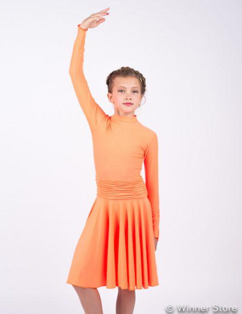 Платье рейтинговое PR13 оранжевое