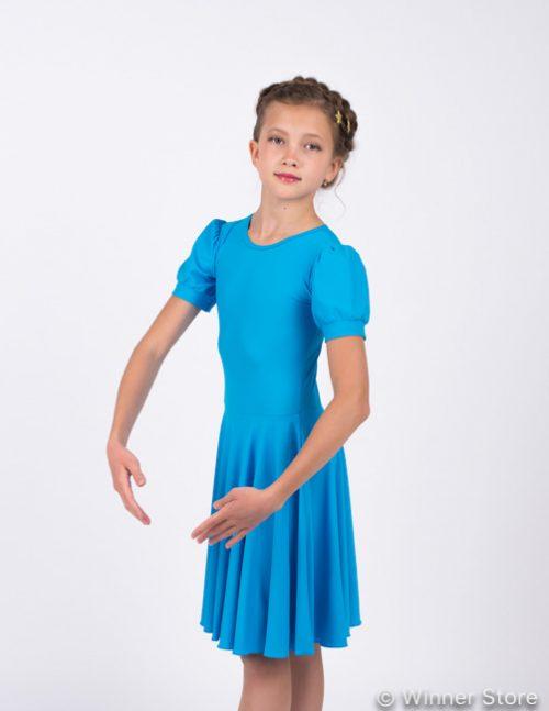 олубое рейтинговое платье