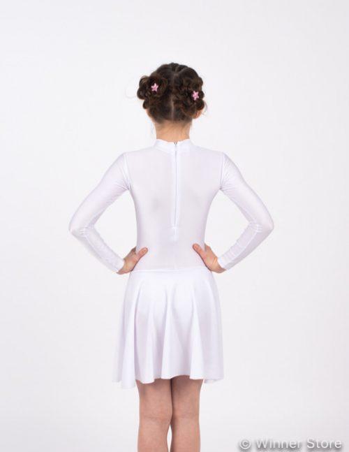 белое рейтинговое платье