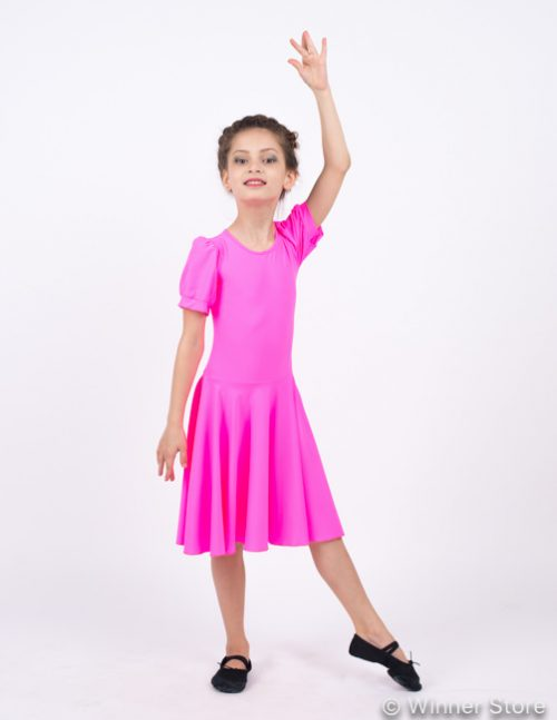 розовое рейтинговое платье