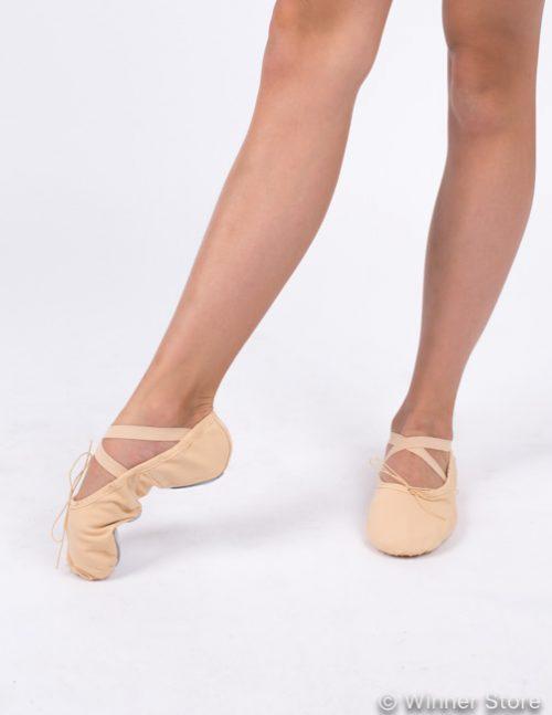 телесные концертные балетки