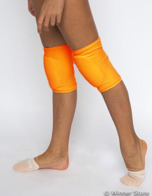 оранжевые наколенники для танцев