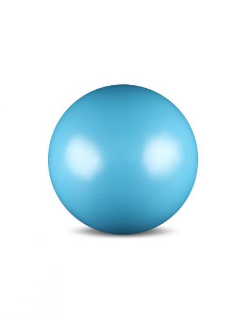 Мяч для гимнастики голубой