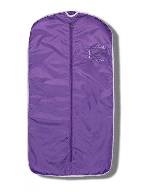 Фиолетовый чехол для одежды