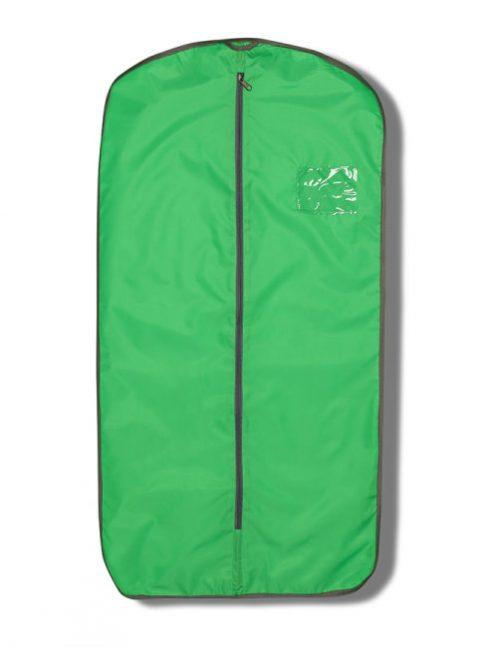 Зеленый чехол для одежды