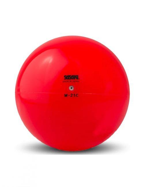 Мяч M 21 C красный