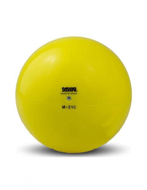 Мяч M 21 C желтый
