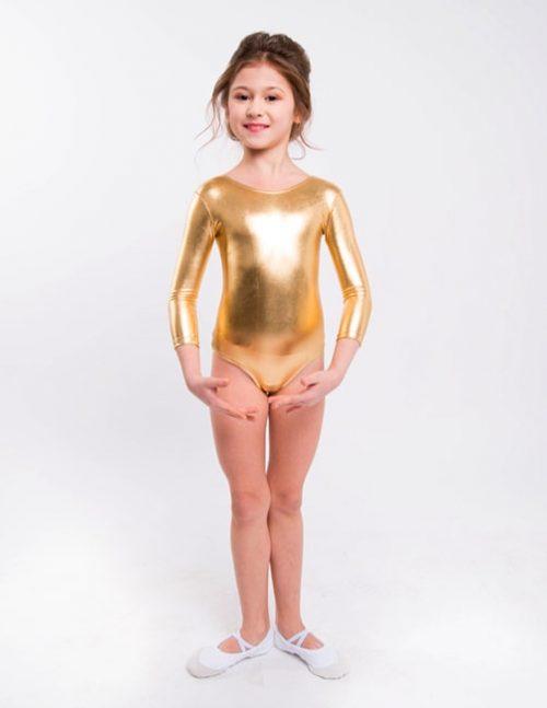 Купальник золотой для выступлений