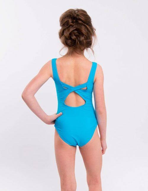 Голубой купальник для плавания