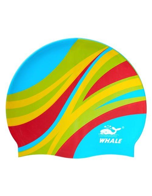 Голубая шапочка для плавания