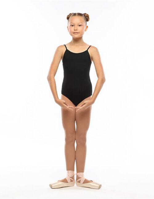 Балетный купальник черный