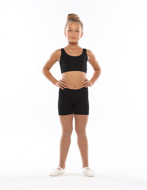 Шорты гимнастические черные